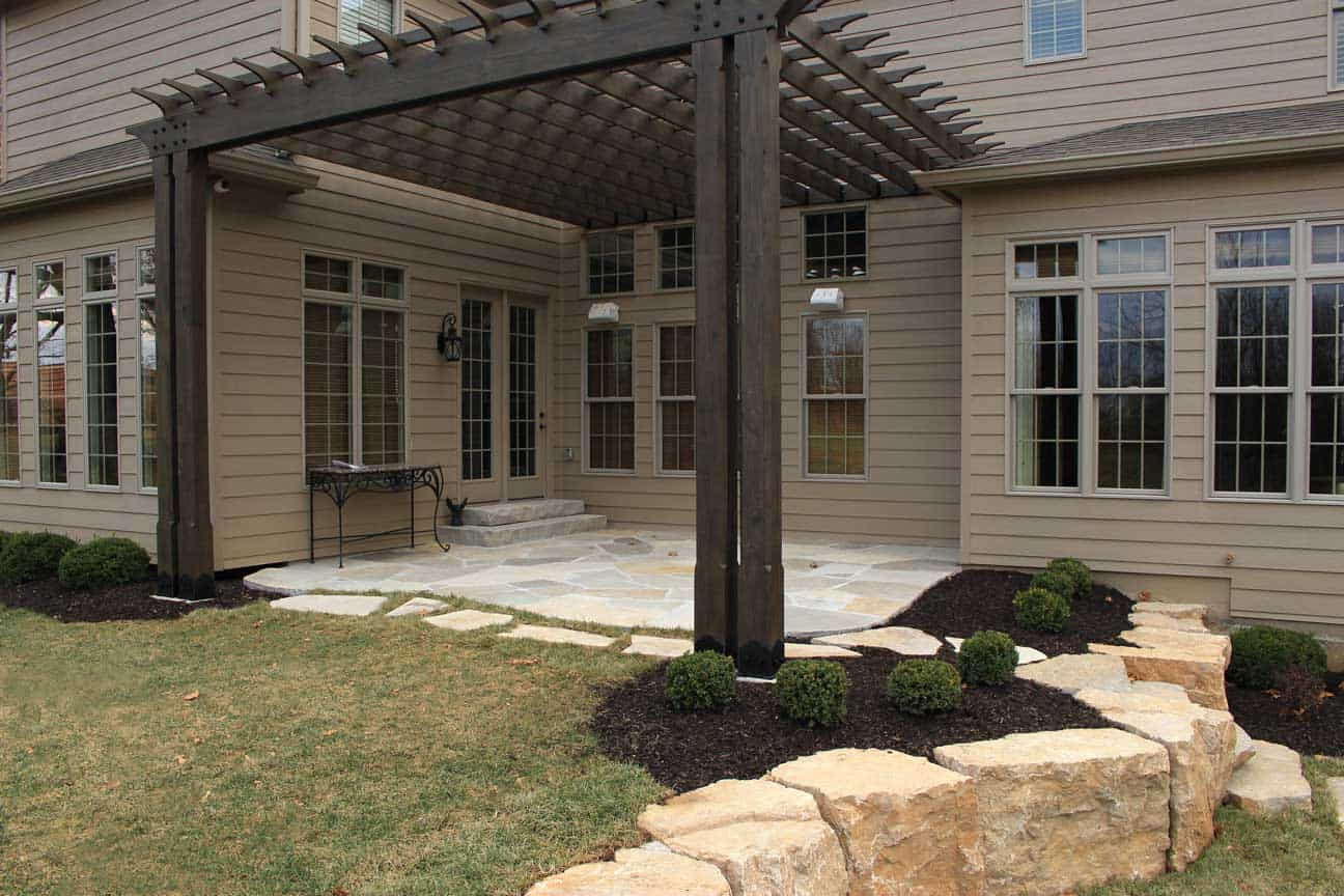 Passigliau0027s Designed This Patio And Pergola For A Home In Wildwood, ...