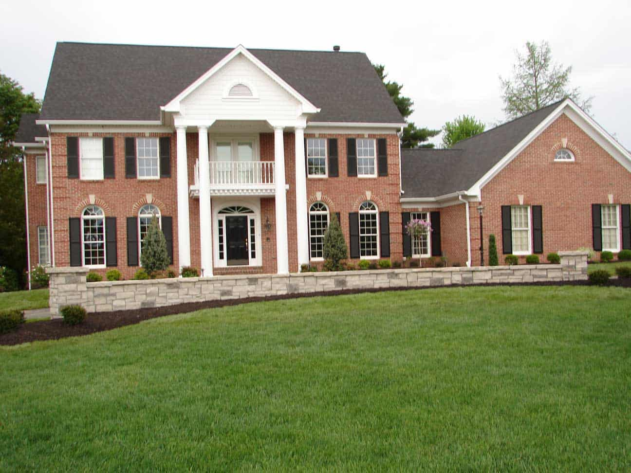 Front Yard Landscape Design Chesterfield Mo